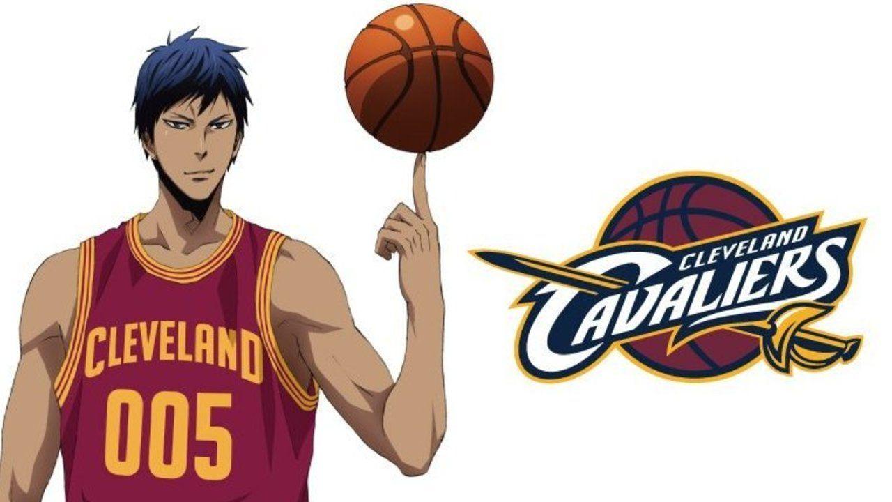 NBA×劇場版『黒子のバスケ』第7弾は青峰 ×キャバリアーズ!エースはやっぱり優勝チームとコラボ!