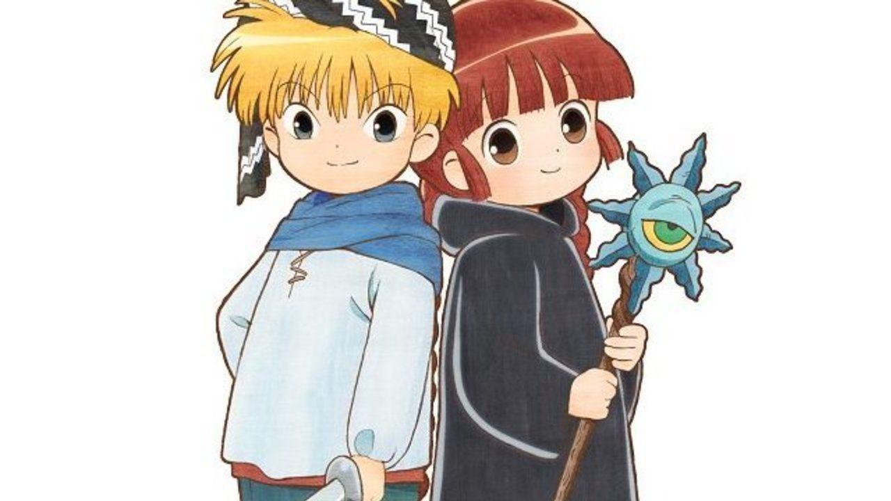 懐かしさを感じるイラスト!アニメ『魔法陣グルグル』ニケとククリのティザービジュアル公開!