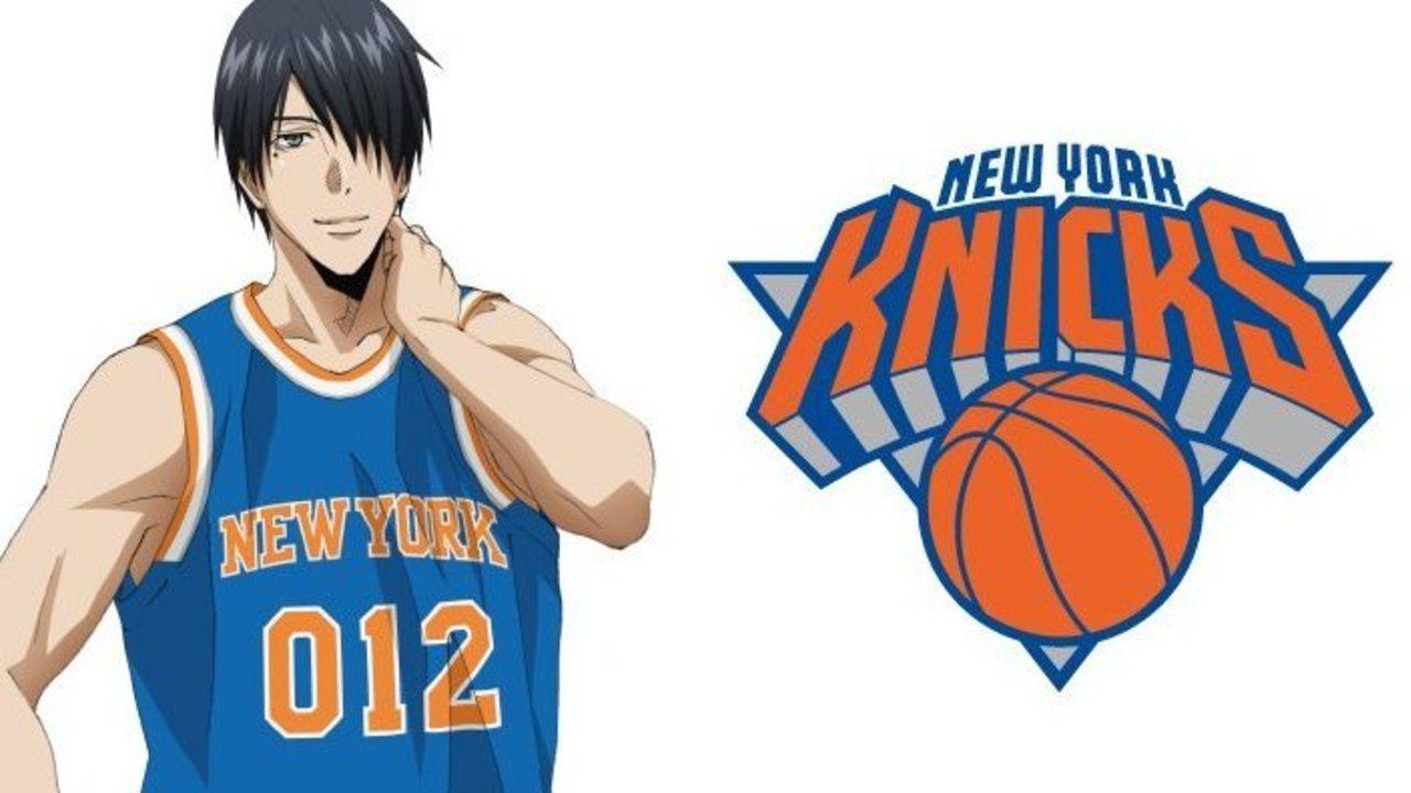 NBA×劇場版『黒子のバスケ』第8弾は氷室×ニューヨーク・ニックス!アメリカ繋がりのコラボ!