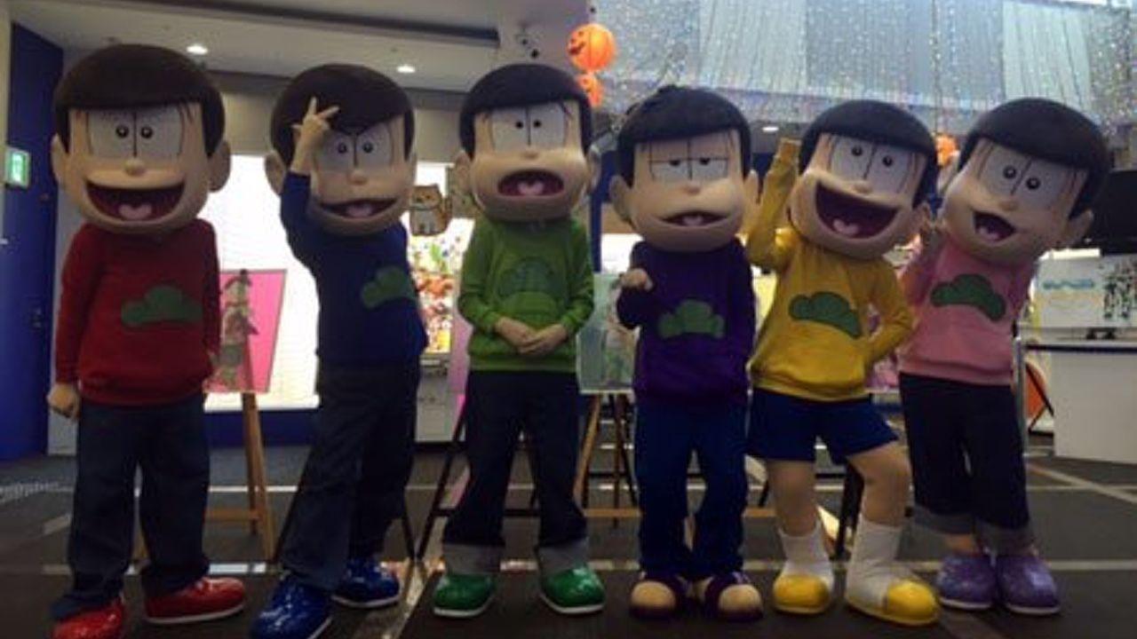 ついに着ぐるみショーが見られる!?『おそ松さん』より6つ子が出演するステージショー開催決定!