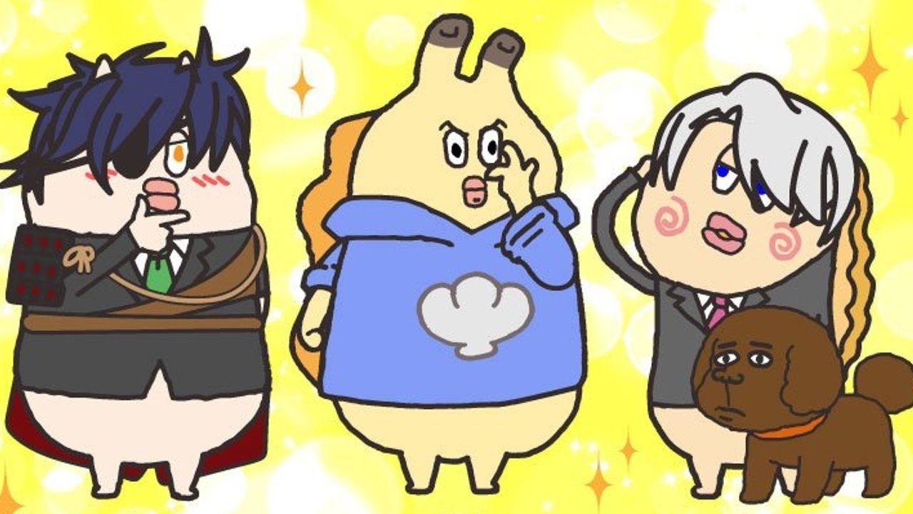 カモ忠にアサ松、ハイフォロフ!?アニメ『貝社員』チョコをもらうために人気キャラクターに変身?