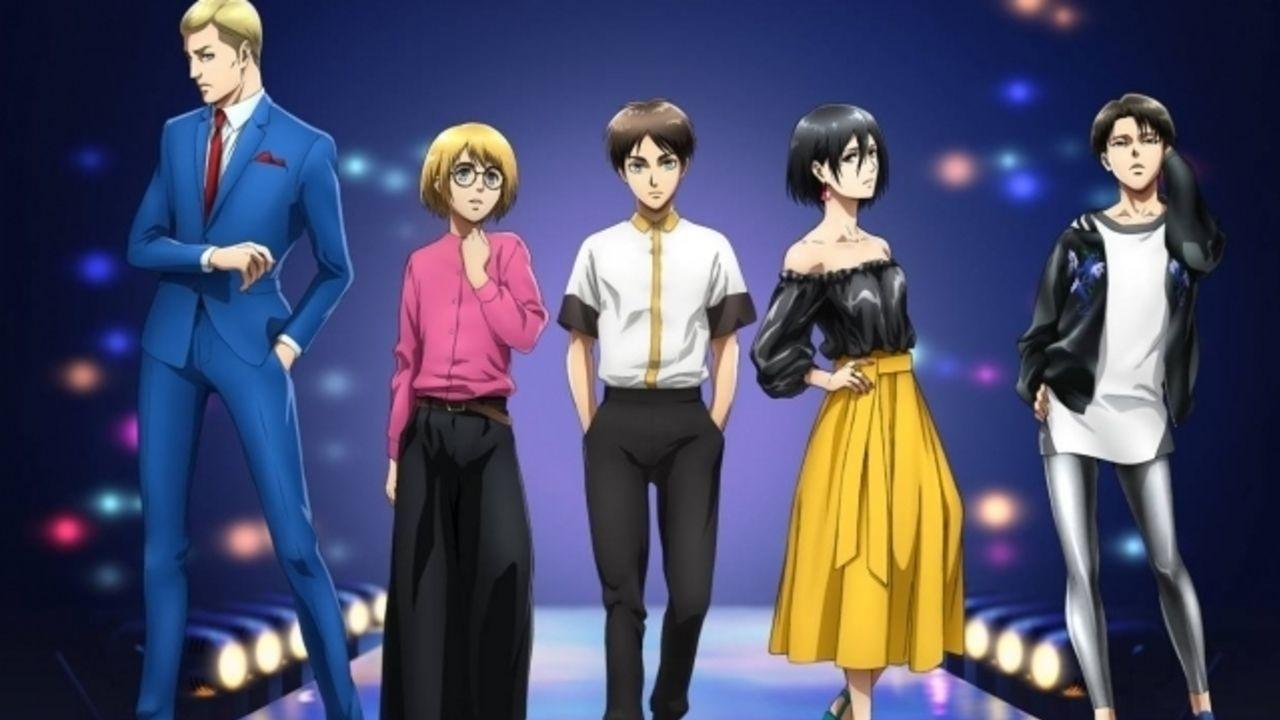 「東京ガールズコレクション」と『進撃の巨人』がコラボ!調査兵団たちが最先端ファッションに身を包む!