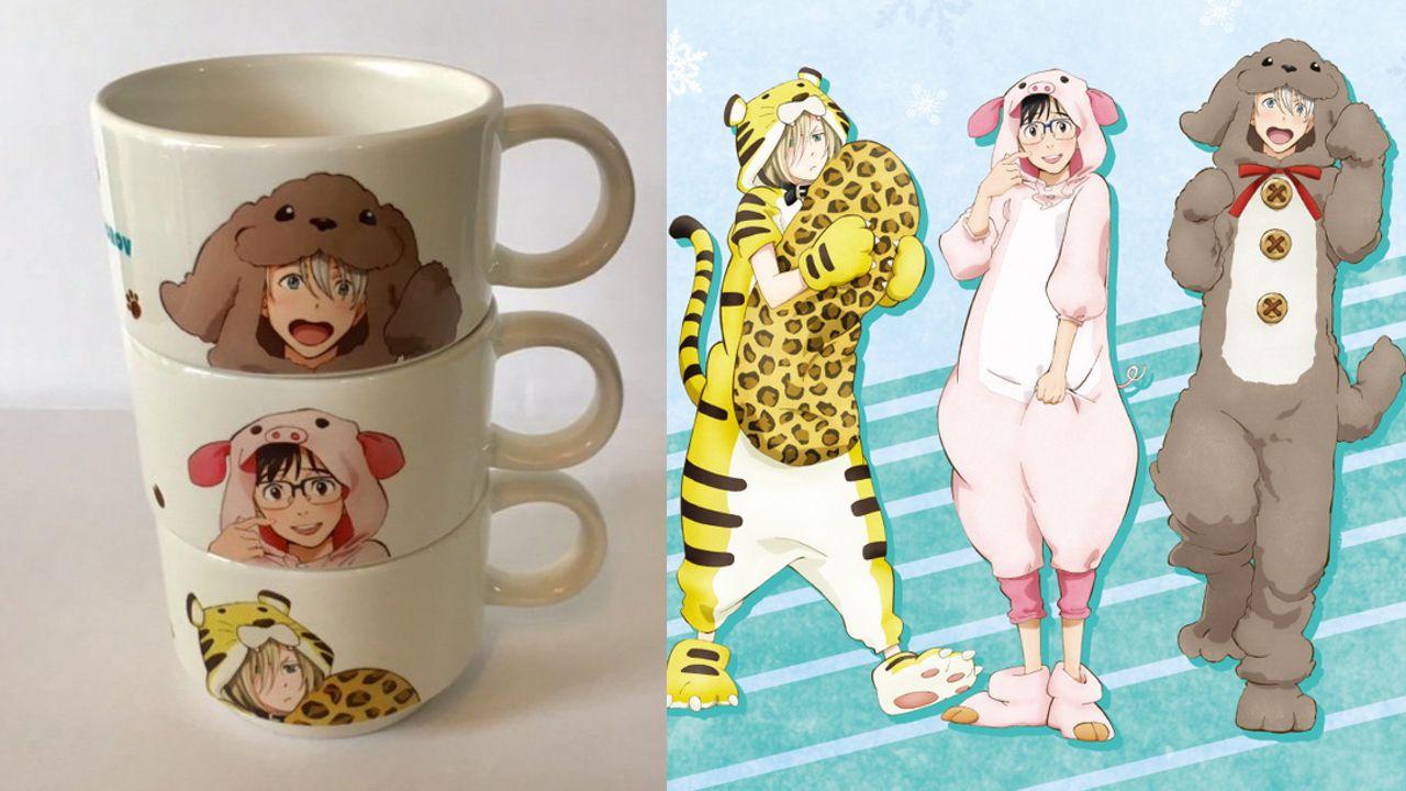 着ぐるみになった3人が話題の『ユーリ!!! on ICE』×新宿マルイアネックスのコラボグッズ詳細が公開!嬉しいグッズ通販も開始!