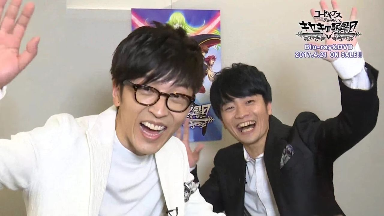 『コードギアス 反逆のルルーシュ』より櫻井孝宏さん、福山潤さんが10周年イベントのBD&DVD発売告知コメントに登場!