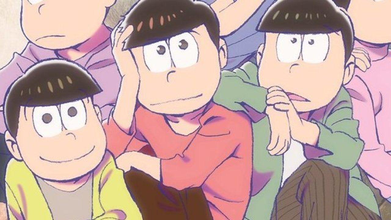 キャラデザの浅野直之さん描き下ろしの6つ子!『おそ松さん』SPECIAL BOOKの表紙が公開!