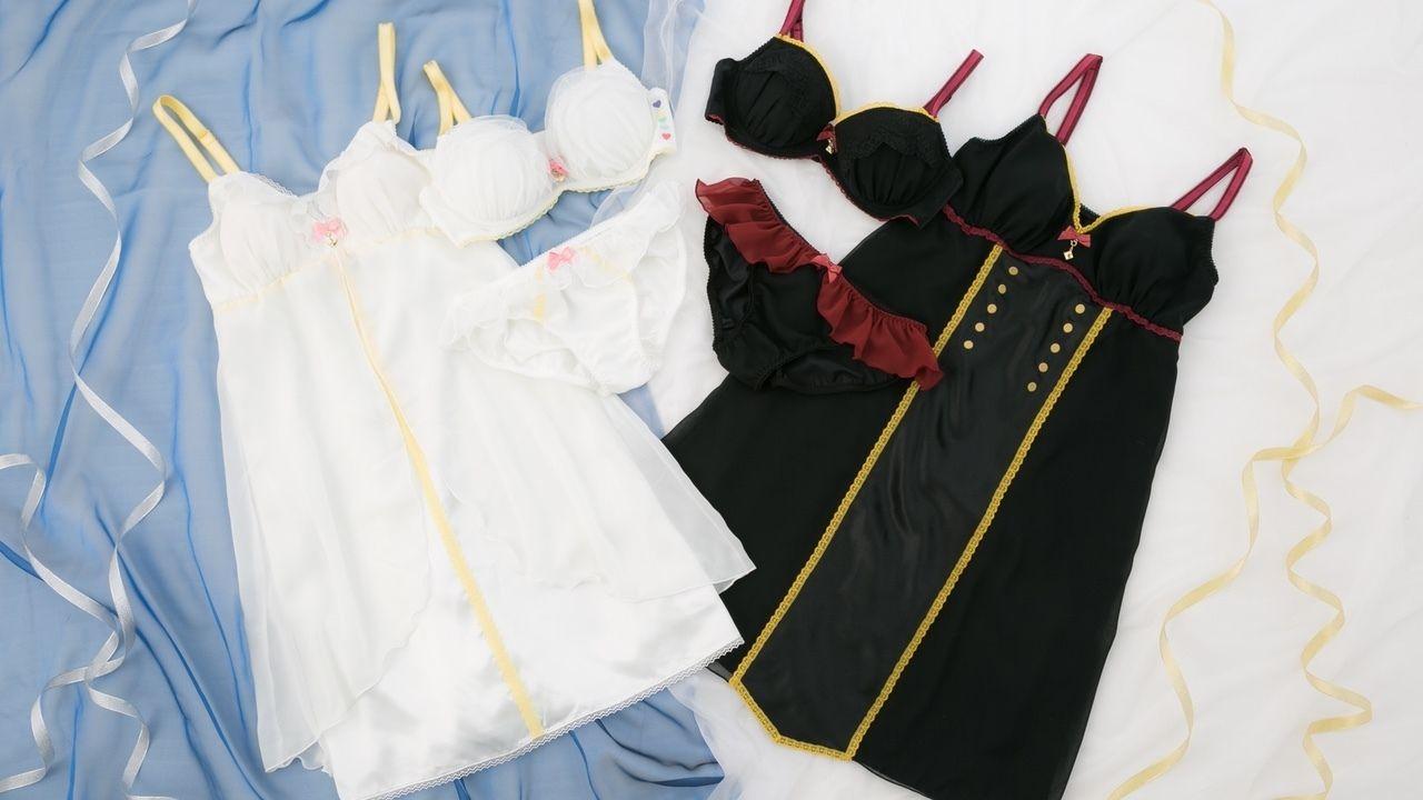 『防衛部』より「地球防衛部」と「地球征服部」の変身衣装をイメージしたコラボランジェリーセット&キャミソールが登場!
