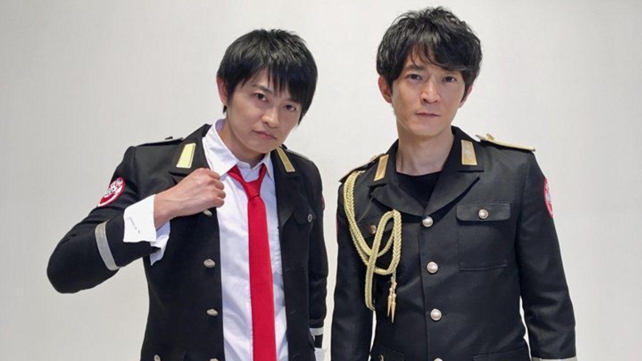 ジーン役の下野紘さんだけじゃなくニーノ役の津田健次郎さんも制服姿に!『ACCA』制服姿とパーカー姿を披露!