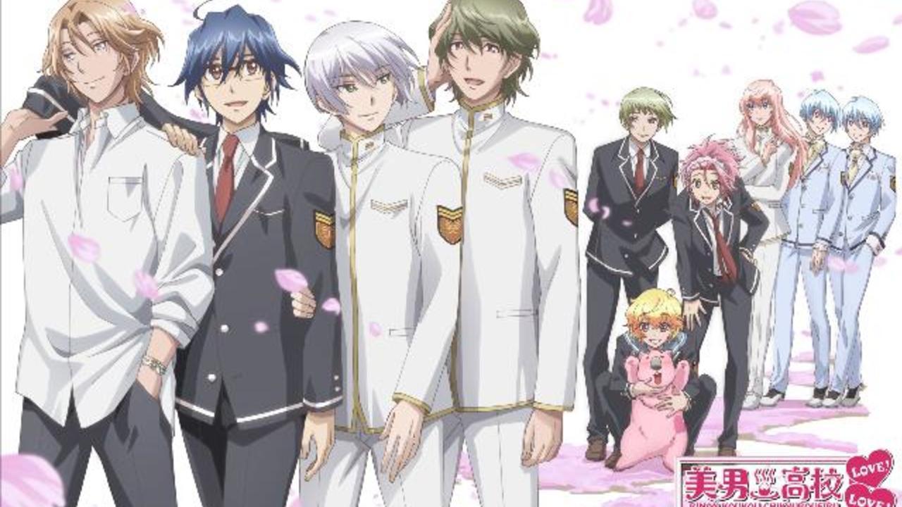 OVA『美男高校地球防衛部LOVE!LOVE!LOVE!』の制作決定!3年生が…ついに卒業!?