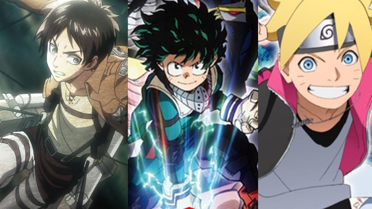 海外アニメファンが選んだ期待している春アニメは?『進撃の巨人』『ヒロアカ』『BORUTO』がランクイン!