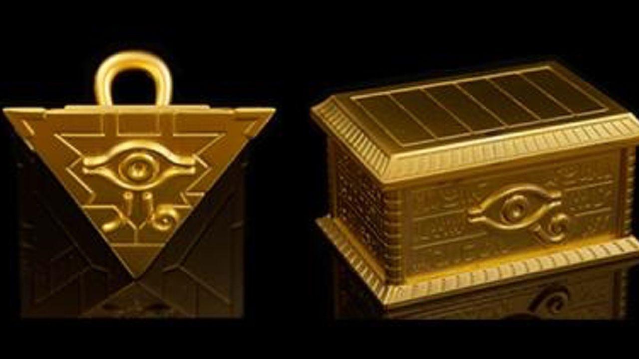 もう一人の僕に会えるかな?『遊☆戯☆王 デュエルモンスターズ』の遊戯が所有する実物サイズの千年パズルと黄金櫃が発売決定!