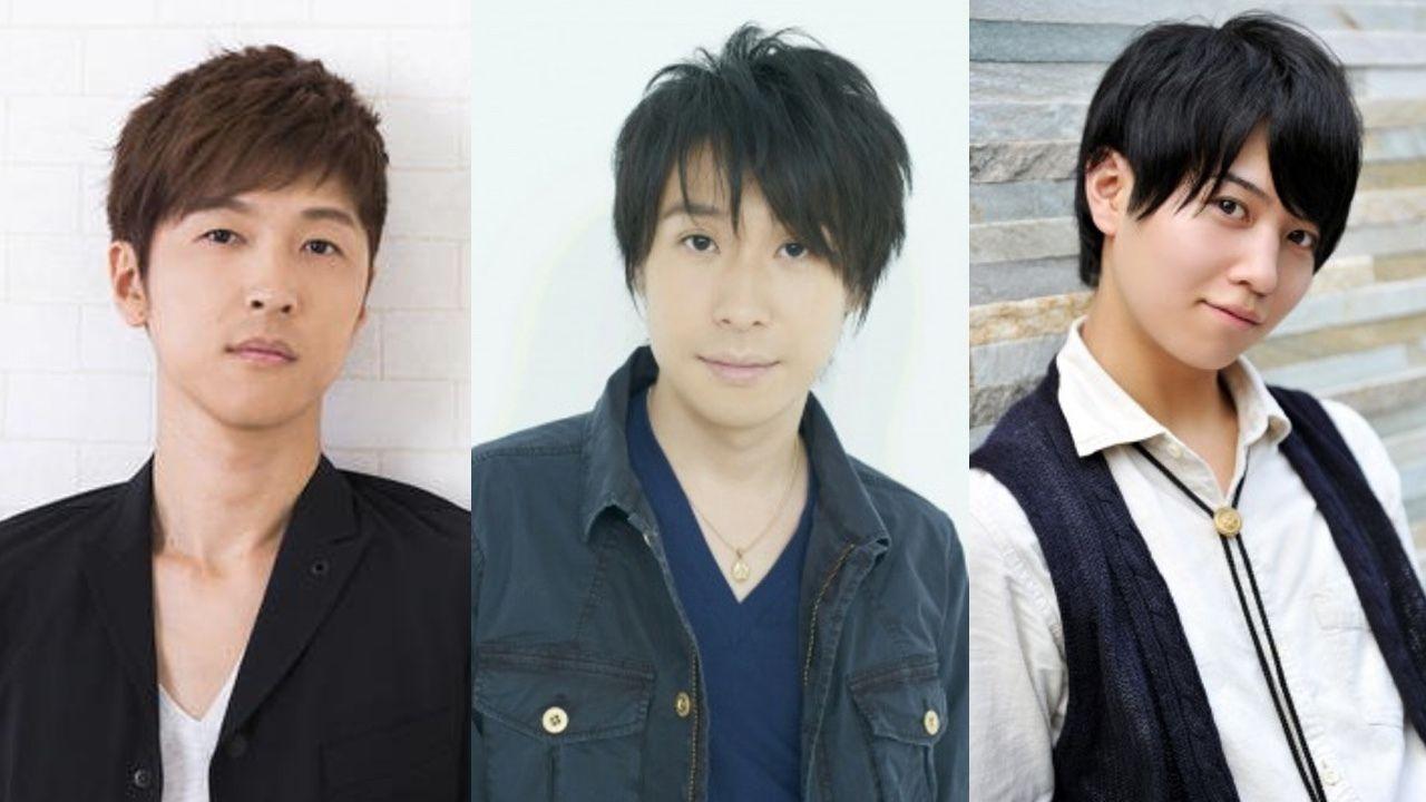 関智一さんがガッチャマンを演じるアニメ『Infini-T Force』のテッカマンに櫻井孝宏さん、ポリマーに鈴村健一さん、キャシャーンに斉藤壮馬さんが決定!