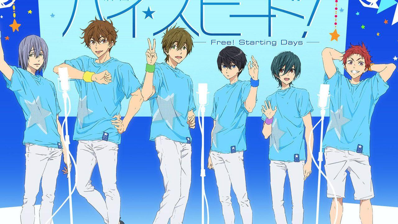 嬉しい両公演収録!『Free!』の劇場版も発表された『ハイ☆スピード!』オフィシャルイベントの円盤化が決定!