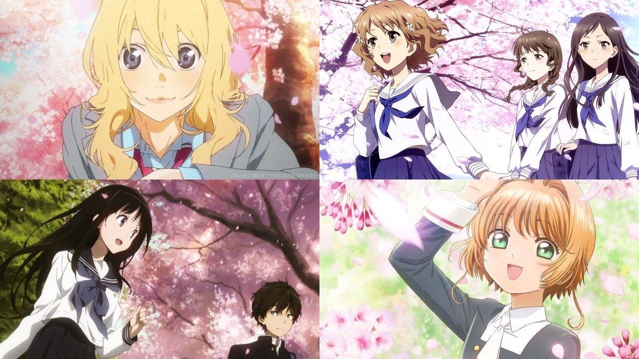 桜舞う!春が来ると見たくなるアニメ 7選