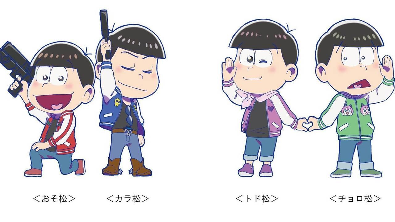 ゲーセンを楽しむ6つ子達!?第2期アニメ放送決定の『おそ松さん』のキャラポップストアが限定のオリジナルストーリーで開催決定!
