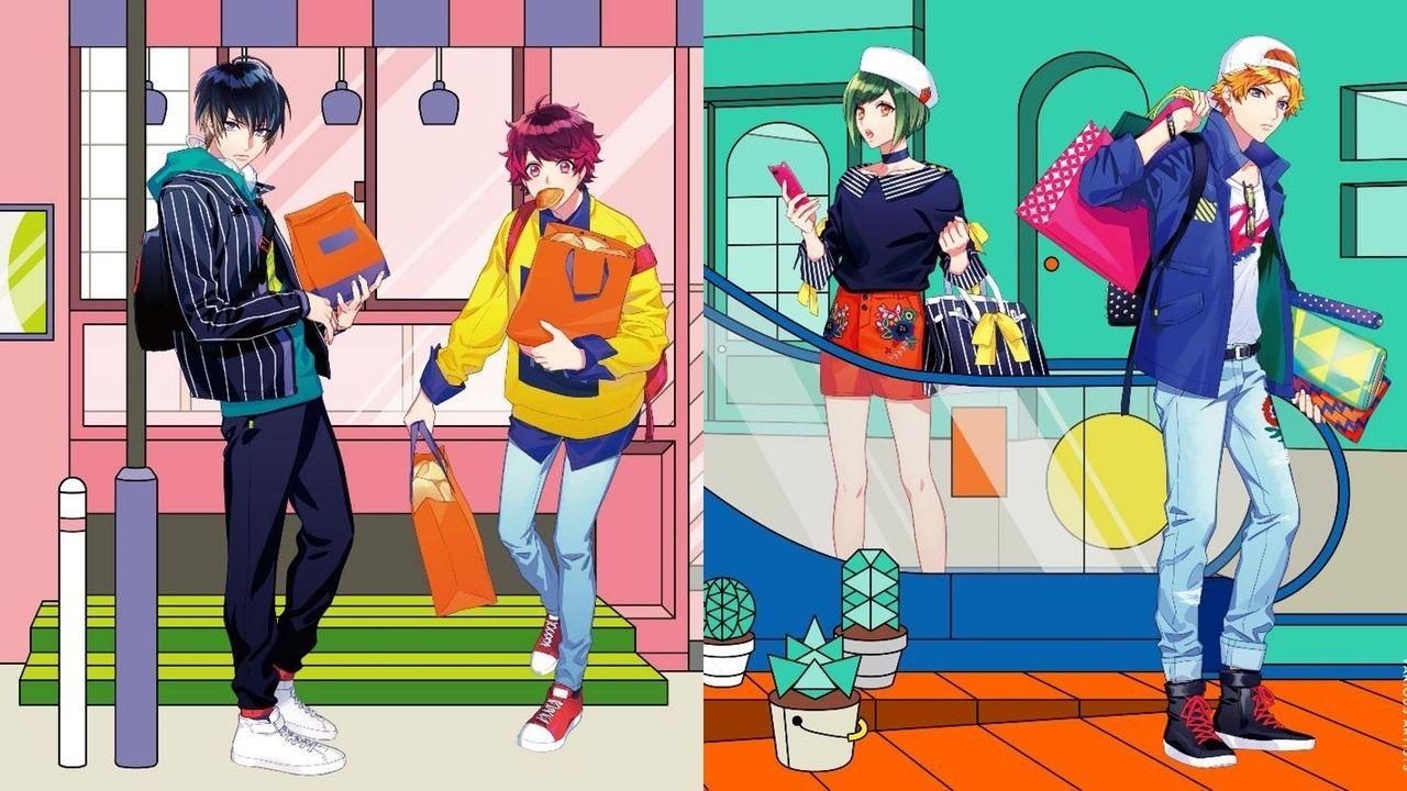 『A3!』春組&夏組のビロード町での1コマを描いたミニアルバムジャケット公開!6ヶ所で店舗特典も実施!