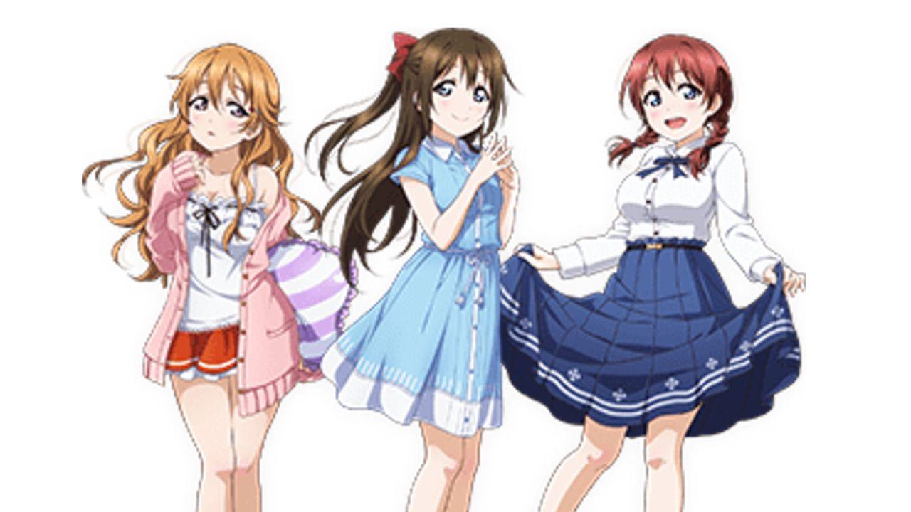 新スクールアイドルはこの3人!アプリ『スクフェス』新プロジェクトにエマ、桜坂しずく、近江彼方の転入生総選挙上位3人が登場!