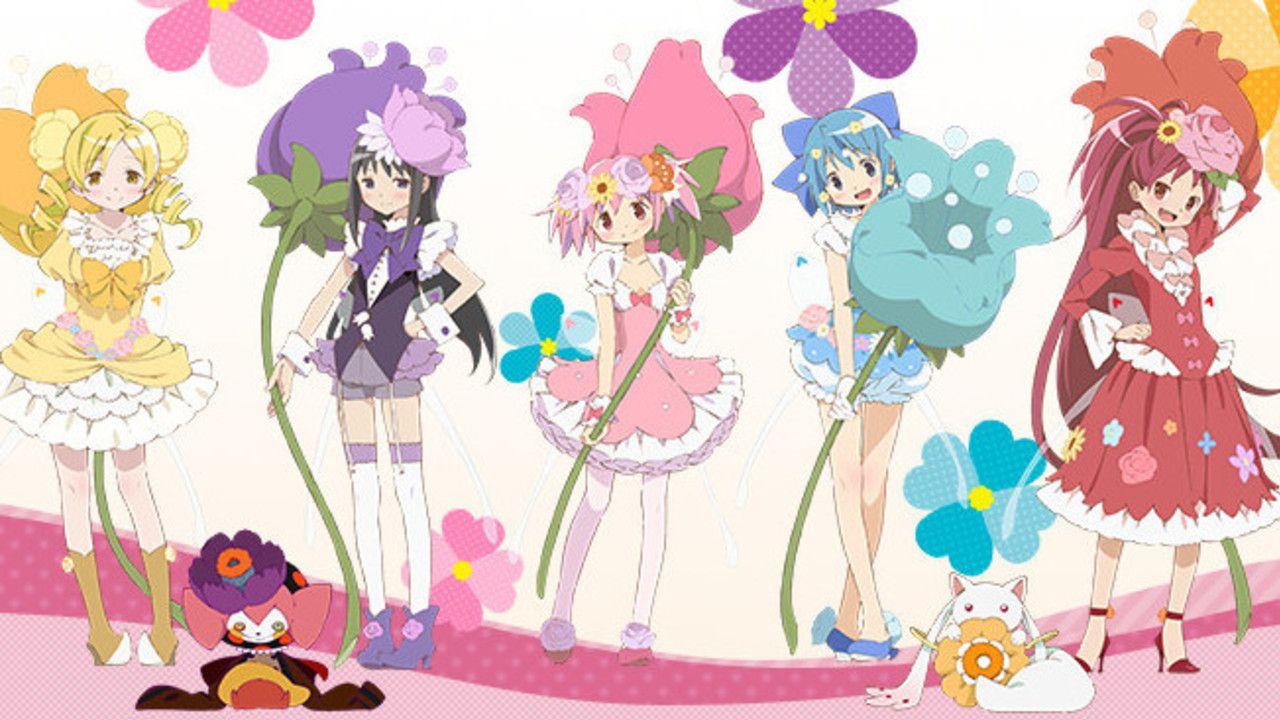 花の妖精になったまどかたちがかわいい!『魔法少女まどか☆マギカ』×ローソンのキャンペーンが4月25日よりスタート!