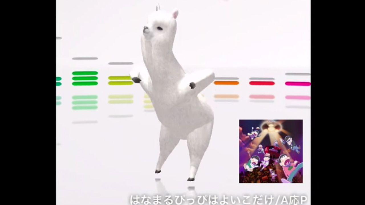 アプリ「aDanza」のアルパカに『おそ松さん』OPを踊ってもらってみた