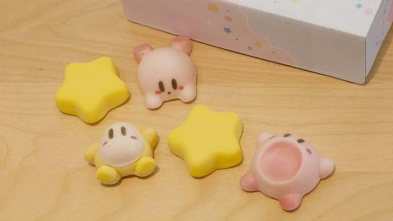 「星のカービィ プププ☆トレイン」に可愛すぎて食べられないマシュマロが登場!ワープスターやワドルディの姿も