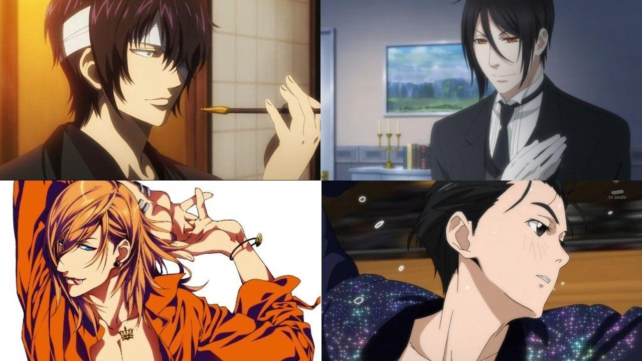フェロモンの浴び過ぎに注意!アニメに登場する色気漂うセクシーな男性キャラといえば?