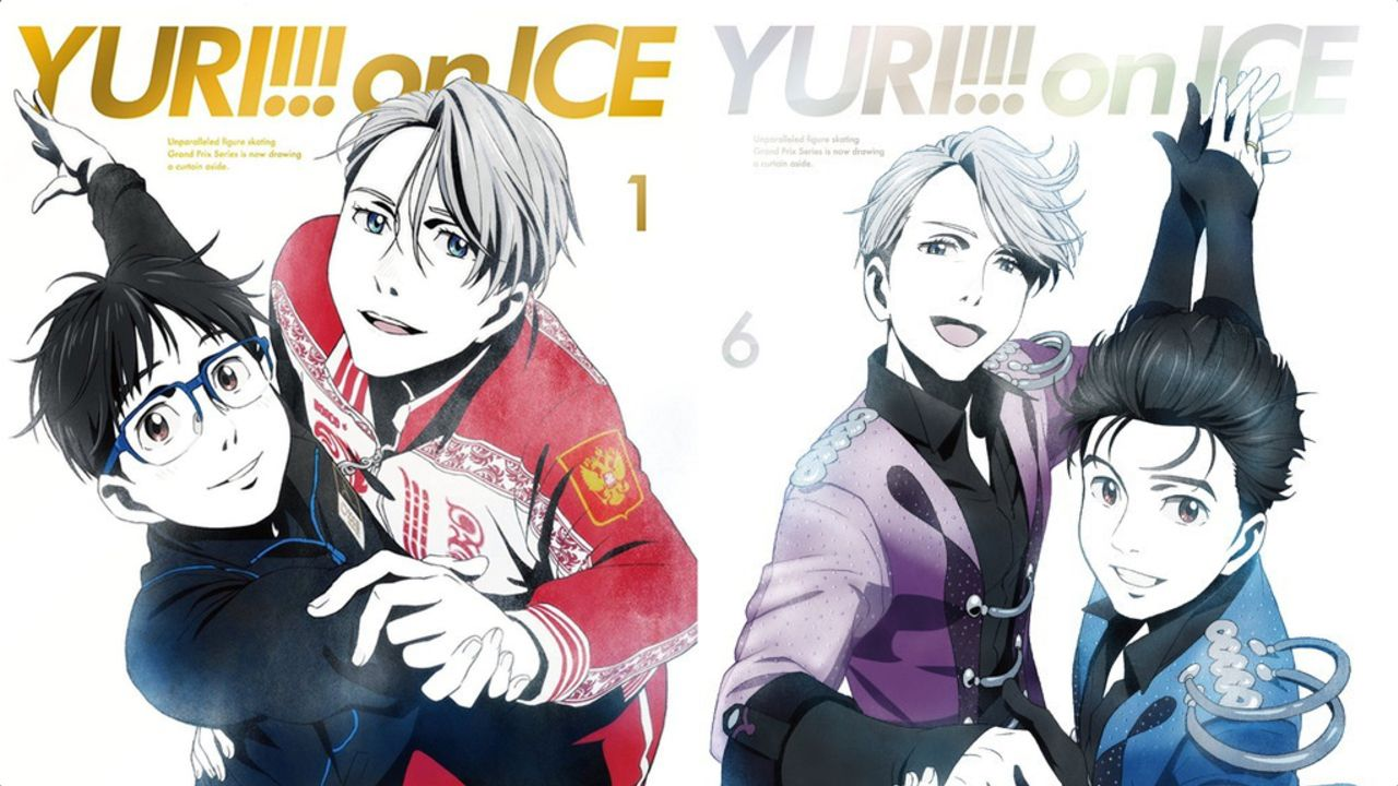『ユーリ!!! on ICE』フォローされる勇利からリードする勇利へ…BD&DVDジャケット1巻・6巻はまさに「愛」のあるジャケットだった!