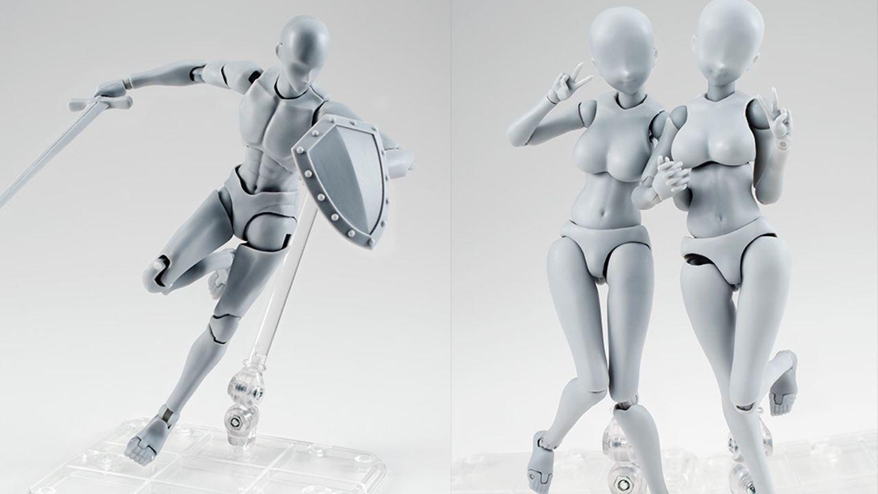 筋肉・肉感が魅力的!『テンカウント』宝井理人先生&『To LOVEる』矢吹健太朗先生がデッサン人形のボディくん&ボディちゃんをプロデュース!