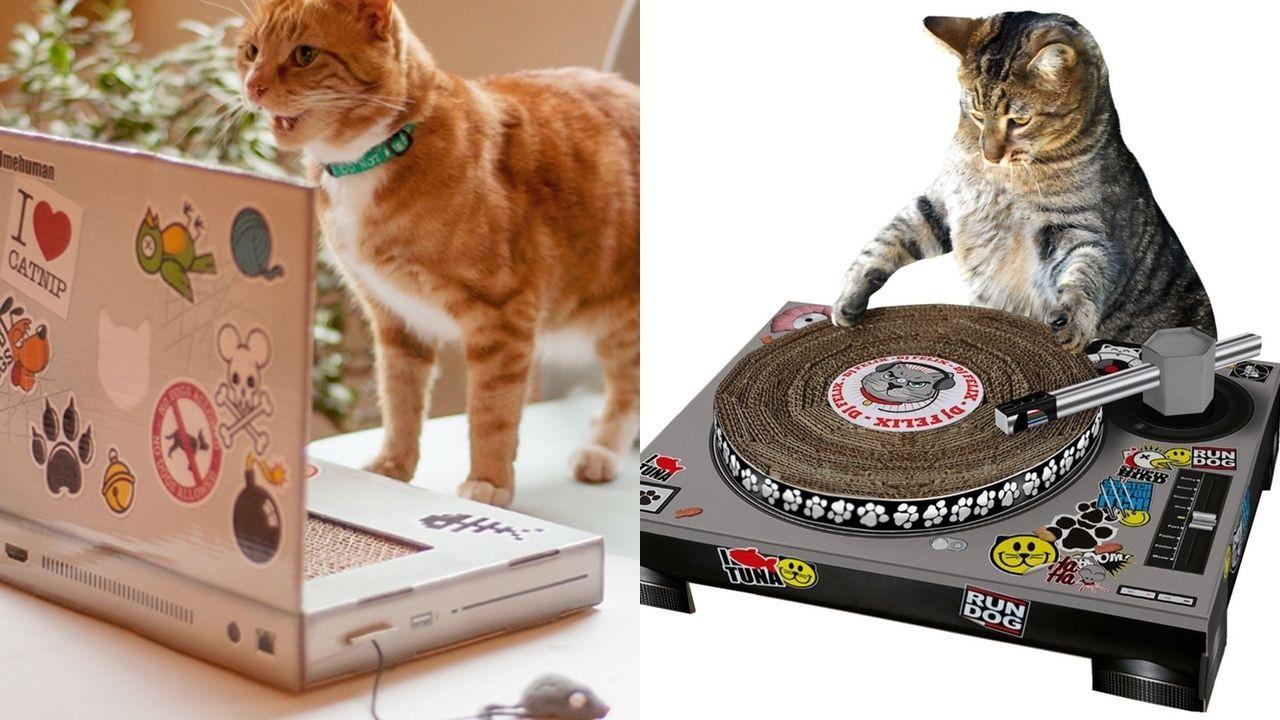 これであなたも猫も快適PCライフ!?見ているだけで幸せな気分になれる猫の爪とぎ商品をご紹介!