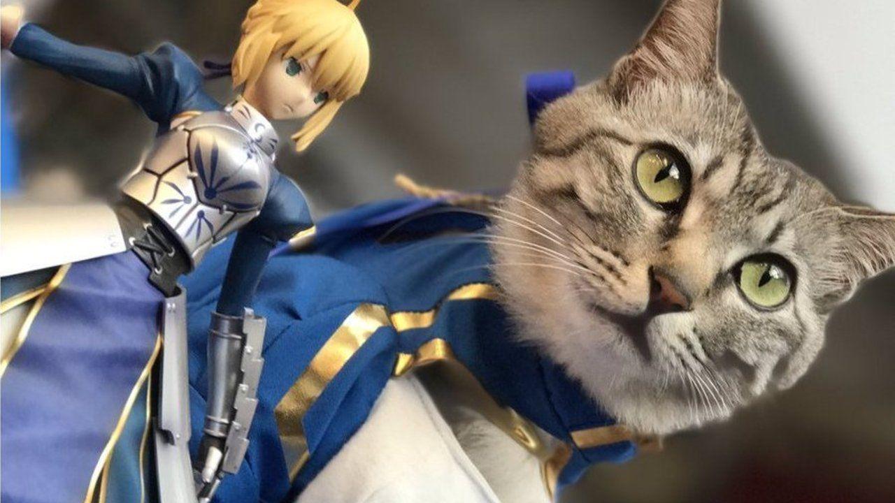 アルトリア(クラス:猫)『Fate』のセイバー衣装に身を包んだ可愛すぎるコスプレイヤーさんが「マチ★アソビ」に登場!