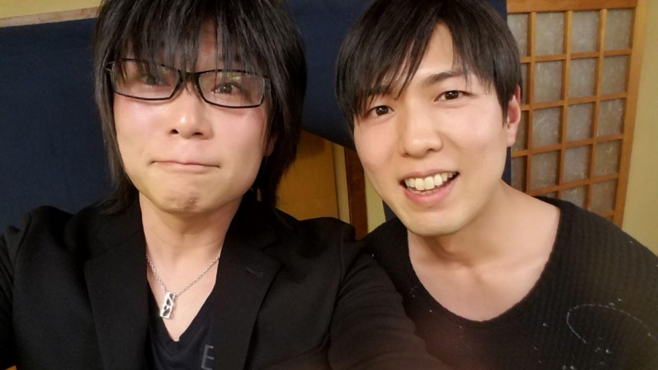 「後輩のピロシです♪」森川智之さんが神谷浩史さんとの2ショットを公開!これが噂の「鰻の会」!