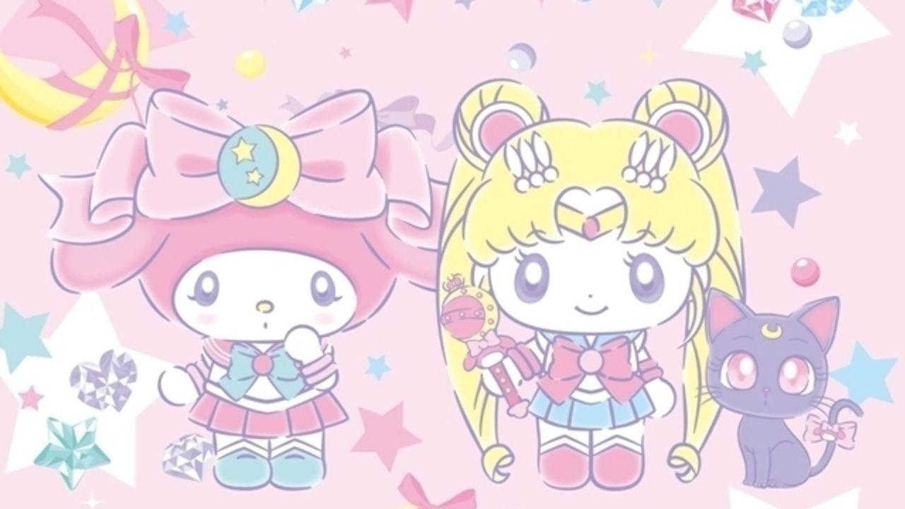 きらきら可愛いが詰まったイラスト!『美少女戦士セーラームーン』×マイメロディのコラボ新ビジュアルが公開!
