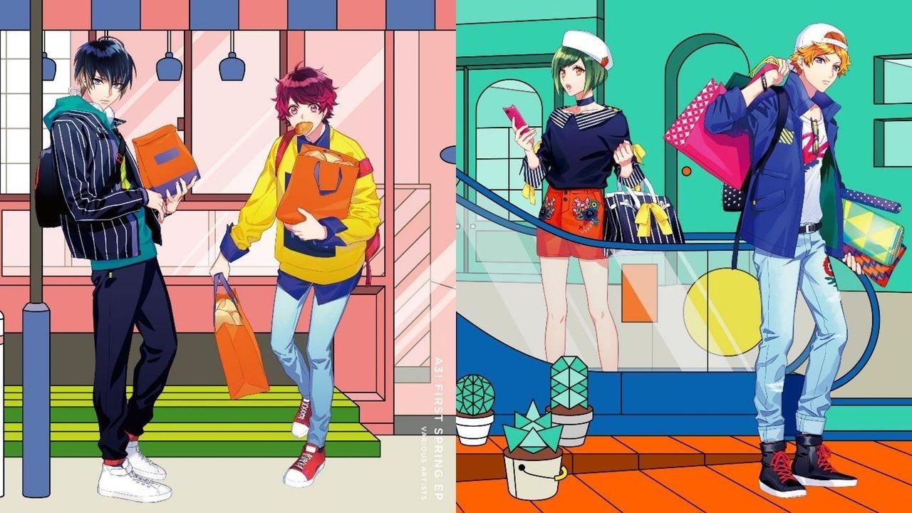 『A3!』春組・夏組のミニアルバムが「MANKAI☆開花宣言」を上回る好記録でオリコントップ5にランクイン!