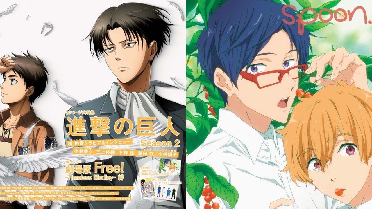 「spoon.2Di vol.26」の表紙は『進撃の巨人』&『Free!』!『錆色のアーマ』出演の増田俊樹さん撮り下ろしインタビューも掲載!