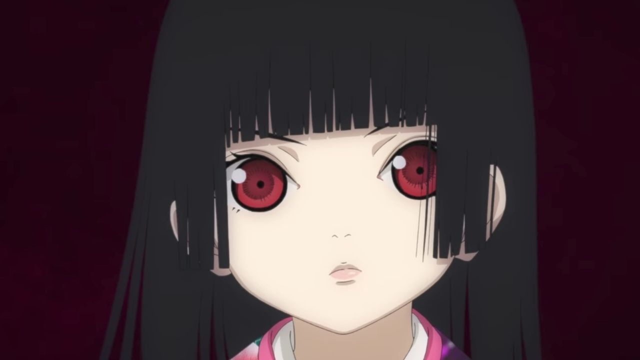 いっぺん、死んでみる?アニメ『地獄少女 宵伽』よりメインキャラが集合した新ビジュアル&謎の少女ミチルが登場する新PVが公開!