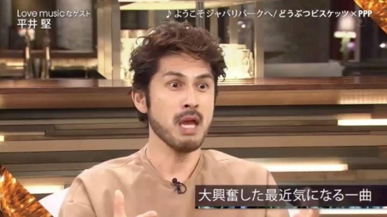 平井堅さんがフジテレビの音楽番組で『けものフレンズ』OPを大絶賛!さらに平井節であのフレーズを歌唱!