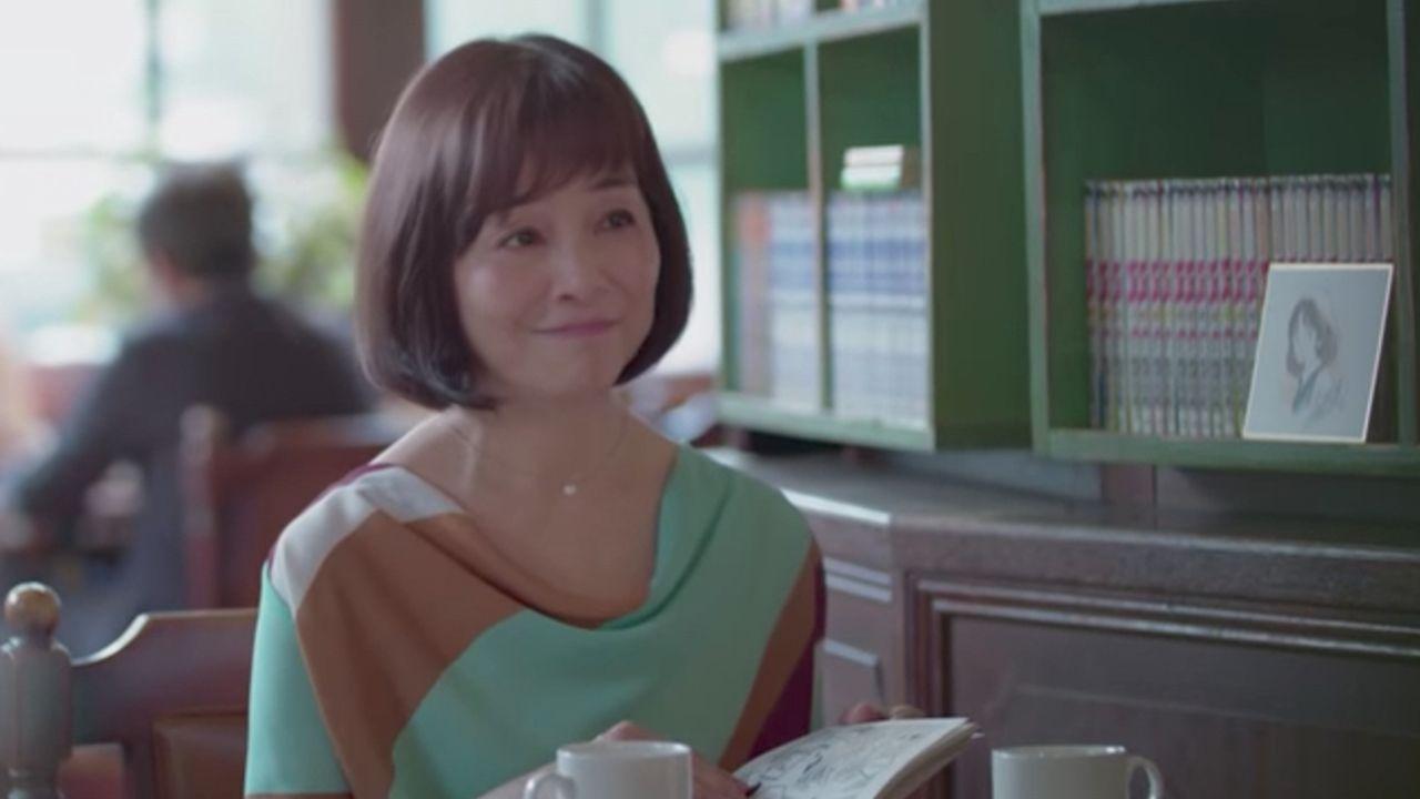 『タッチ』朝倉南役の日高のり子さんがあだち充先生『MIX』のTVCMに出演!「あ、タッちゃんだ」とつぶやく姿も!
