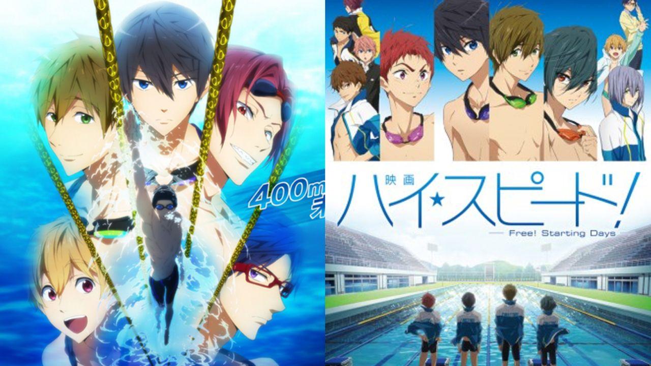 日テレプラスにてアニメ『Free!』2シリーズ&『ハイ☆スピード!』一挙放送!さらに『TM 約束』の公開を記念して大型ビジュアル掲出!
