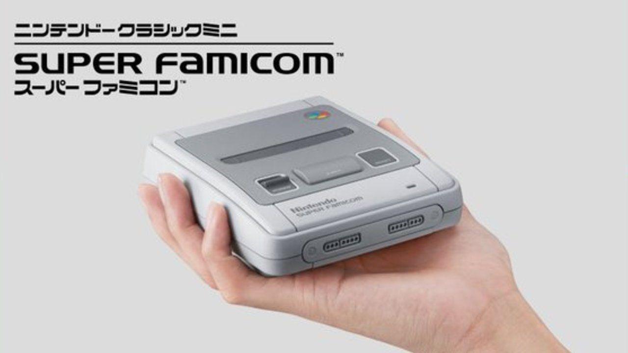 手のひらサイズでかわいい!ファミコンに続いてスーパーファミコンもミニサイズで登場!
