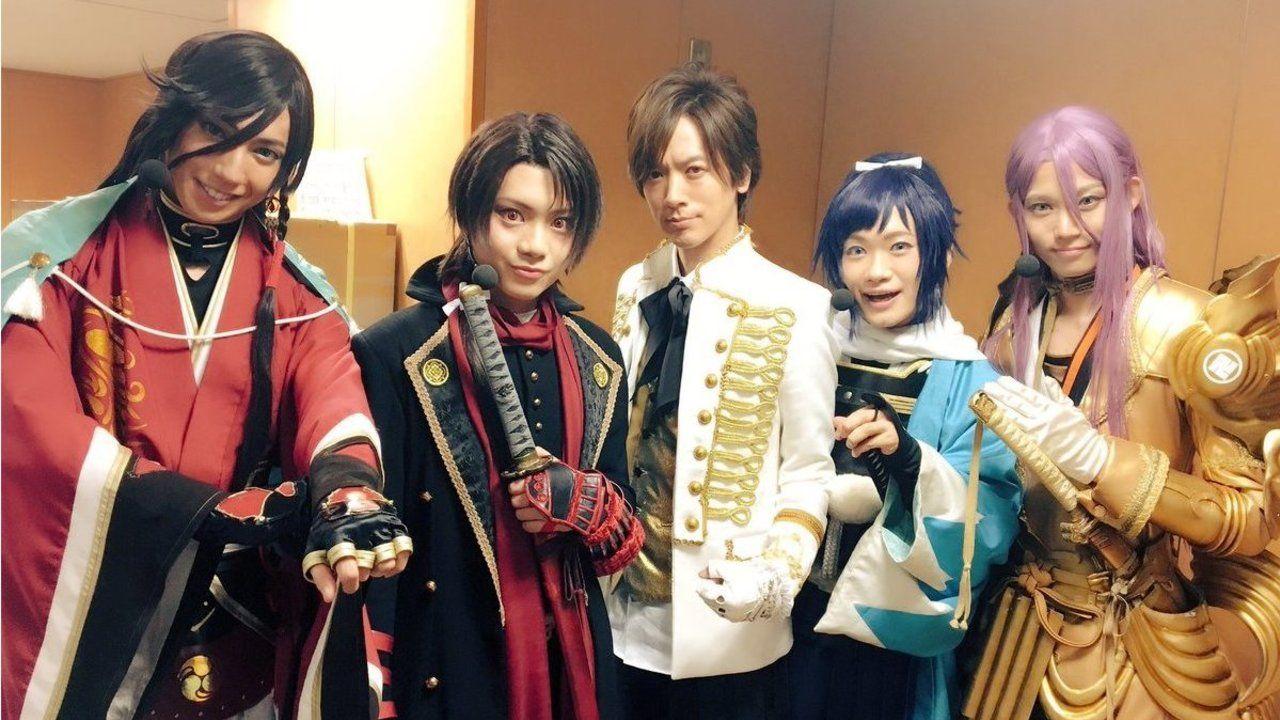 刀剣DAIGOが誕生!?ミュージカル『刀剣乱舞』から4振りの刀剣男士たちがNHK「シブヤノオト」に出陣!