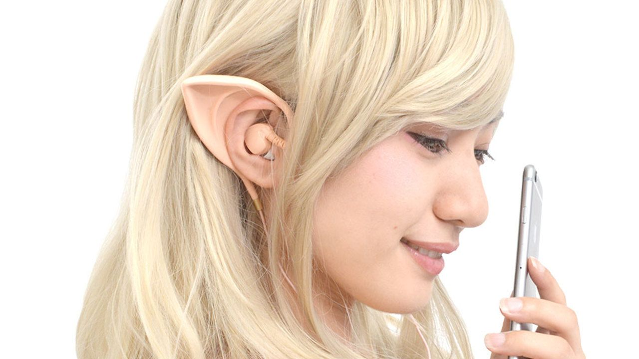 人によってはゴブリンやホビットに!?誰でもエルフになれるエルフ耳型イヤフォンが発売!