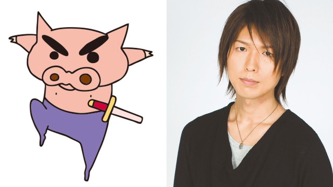 8月4日放送の『クレヨンしんちゃん』にぶりぶりざえもんえかきうたが登場!歌を担当するのは神谷浩史さん!