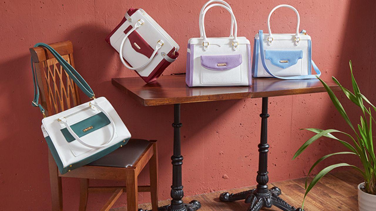 それぞれの特徴やカラーに仕上がったデザイン!『うたプリ』QUARTET NIGHTモデルのバッグが登場!