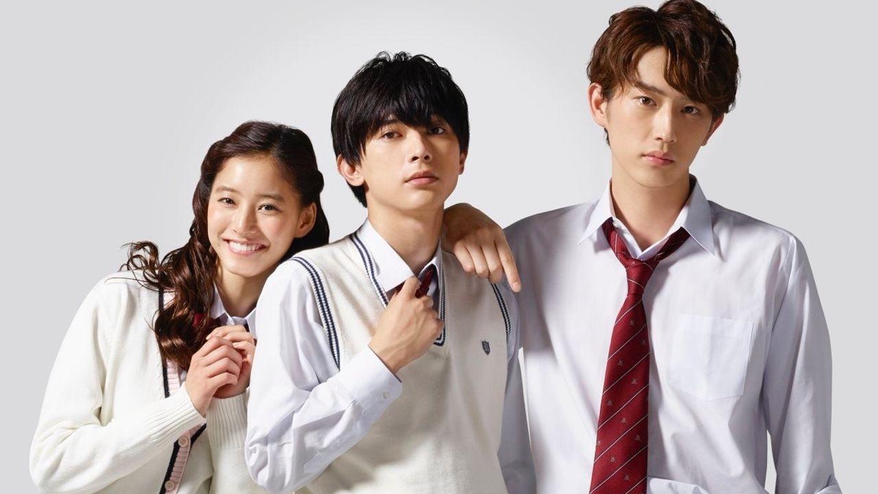 白石ユキ先生の少女漫画『あのコの、トリコ。』が実写映画化決定!吉沢亮さん、新木優子さん、杉野遥亮さんが三角関係に!
