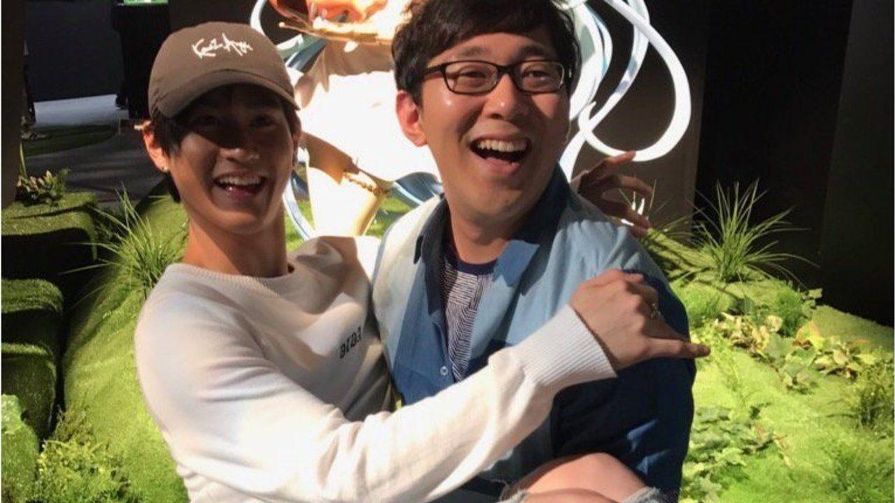 素敵な笑顔!『グラブル』ルリア&ビィのポーズを真似して小野友樹さんが武内駿輔さんをお姫様抱っこ!?