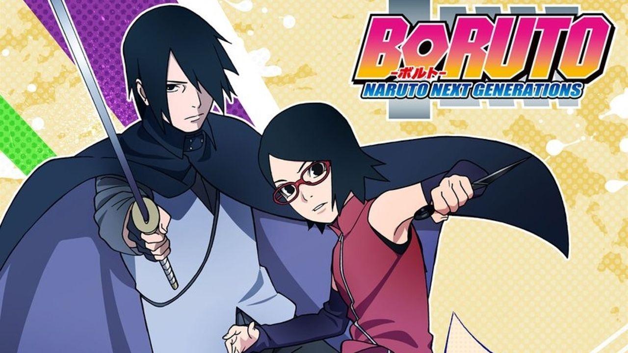 アニメ『BORUTO-ボルト- 』より新ビジュアル公開!岸本斉史先生が描いた外伝が「うちはサラダ編」として放送開始!