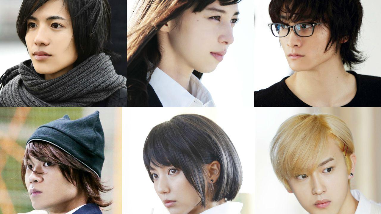 実写映画『覆面系ノイズ』より6人それぞれの想いが交差するキャラクター写真が一挙公開!