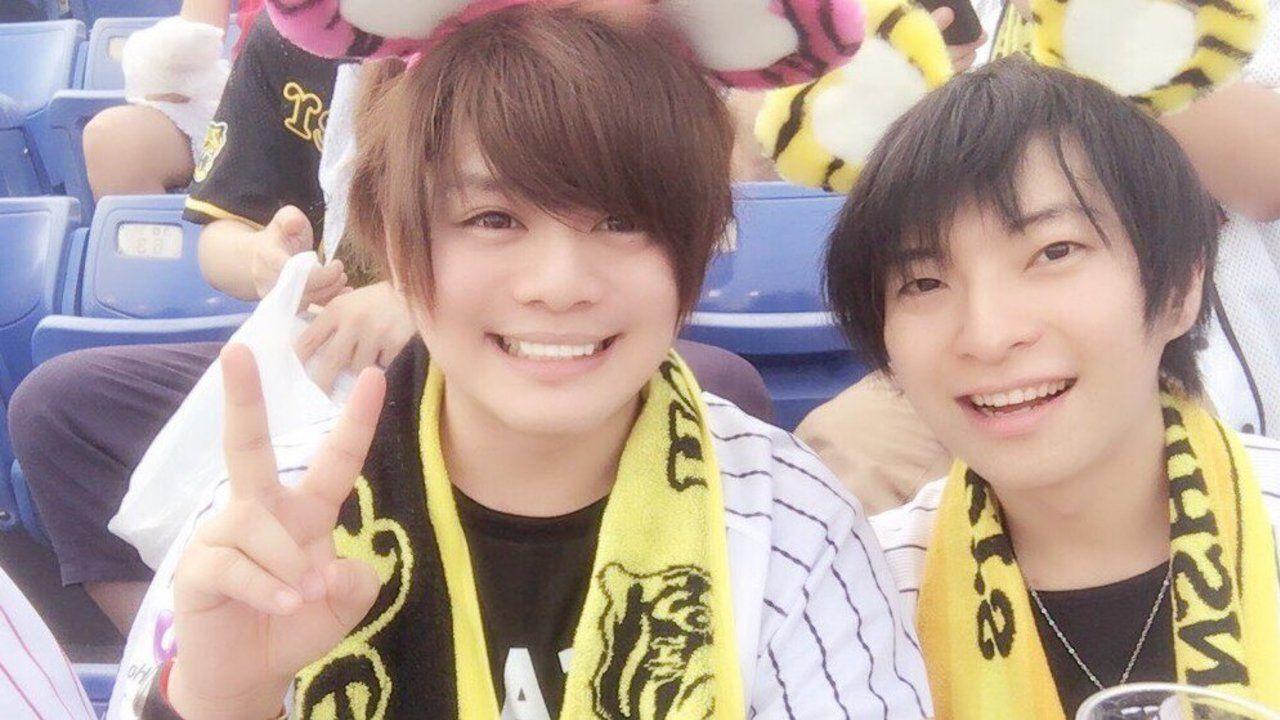 耳カチューシャ可愛すぎませんか!?柿原徹也さんと入江玲於奈さんが今年も仲良く野球観戦へ!