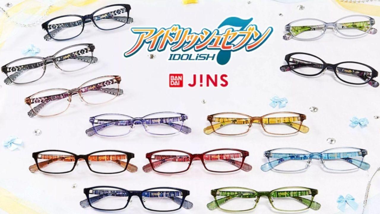 『アイナナ』×BANDAI×JINSの12人のメンバーをイメージしたコラボメガネの詳細公開!