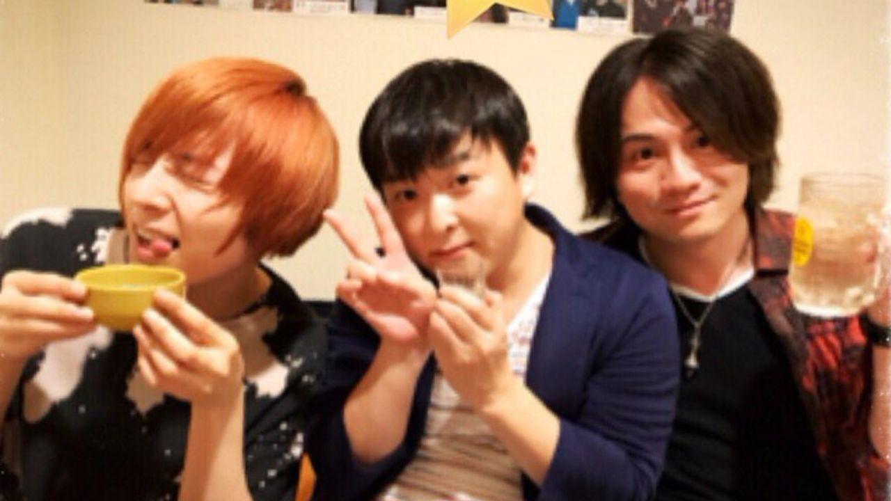 保志総一朗さん、蒼井翔太さんらがシンフォギアァァァァァッ飲み!写真もツイート内容も可愛い!