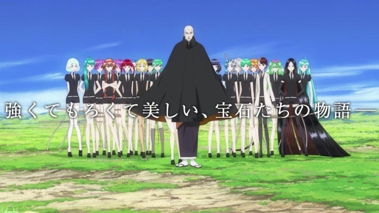アニメ『宝石の国』より最新PVや豪華メインキャストが公開!迫力のバトルシーンに圧巻の映像美!