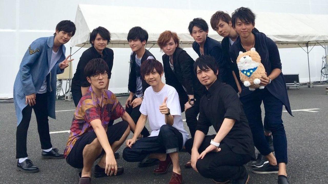 櫻井孝宏さんがヤンキーに見える!?『DIVE!!』イベント終演後の梶裕貴さんら出演キャストたちの集合写真が到着!